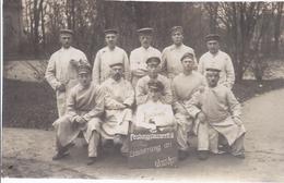 Soldatenaufnahme Gruppe - Festungslazarett II - Erinnerung An Warschau   - Feldpost  -   AK 9,016 - Personen