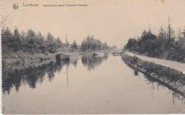 TURNHOUT-KEMPISCHE VAART-TURNHOUT-RAEVELS-SCHEEPVAART-PENICHE-UITG.GEORG STILKE-VERSTUURD-1920-ZIE DE 3 SCANS-RARE ! ! ! - Turnhout