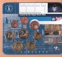 DENEMARKEN  EUROSET - INFOSET 2002 UITGAVE KONINKLIJKE NEDERLANDSE MUNT SCHAARS OPL. 5000 PCS. - EURO