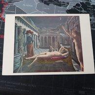 Paul Delvaux - Venus Asleep 1944 - Peintures & Tableaux