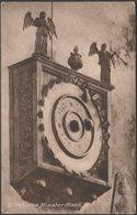 Clock, Wimborne Minster, Dorset, C.1910 - Frith's Postcard - England