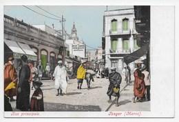 Tanger - Rue Princioale - Undivided Back - Purger 1989 - Tanger