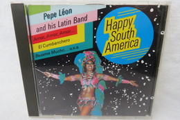 "CD ""Pepe Léon And His Latin Band"" Happy South America - World Music"