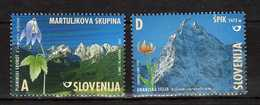 Slovenia - 2002 Mountains & Flowers. MNH** - Geology/Mountains/Flora/Flowers - Slovenië