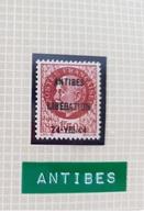 Timbre Libération Antibes 1f50 Bersier - Libération
