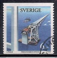 Sweden 1999 - Construction Of The Øresund Bridge - Suède