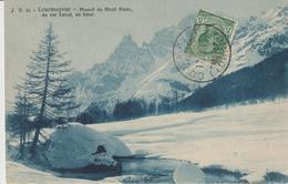 62-Storia Postale-Portalettere N°1-Quartiere Postale Penne-Pescara-Abruzzo-Tema: Montagna-Courmayeur-v.1913 - Marcophilia