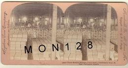 UNCLE SAM'S COMMISSARY STORE - ST PAUL - PHILIPPINE ISLANDS - THREE MONTHS RATIONS - 1899 B.L. SINGLEY - Photos Stéréoscopiques
