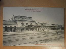 88 Saint Dié, La Gare Côté Voies (4508) - Saint Die