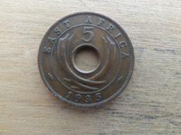 East  Africa  5  Cents  1935  Km 18 - Colonie Britannique