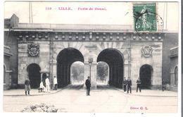 CPA NORD LILLE 59  Porte De Douai édit Gl N°129 - Lille