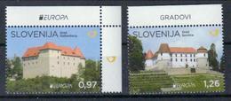 Slowenien 'Europa, Schlösser U. Burgen' / Slovenia 'CEPT, Castles & Palaces' **/MNH 2017 - Châteaux