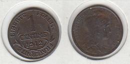 France  1 Centime  Dupuis 1912   1c - France