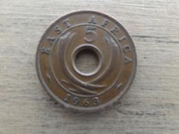 East  Africa  5  Cents  1963  Km 37 - Colonie Britannique