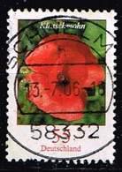 Bund 2005, Michel# 2472 R O Blumen: Klatschmohn Mit Nr. 370 - Roller Precancels