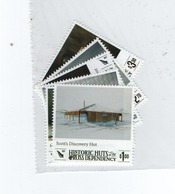 M-P20L5 Set Of 6 Stamps Ross Dependency MNH Historic Huts 2017 (neufx**) - Unused Stamps