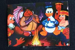 T-D, N°9 / Carte Postal Humoristique  - Walt Disney Productions - Donald Duck - Disney