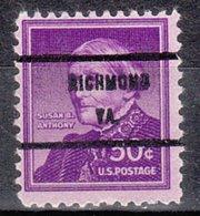USA Precancel Vorausentwertung Preo, Bureau Virginia, Richmond 1051-71 - Vereinigte Staaten