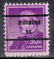 USA Precancel Vorausentwertung Preo, Bureau Virginia, Richmond 1051-71 - Etats-Unis