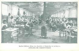 27 Port Villez  Institut Militaire Belge  Atelier De Cordonnerie - Other Municipalities