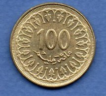Tunisie  -  100 Millim 1997  -  Km # 309  - état  SUP - Tunesië