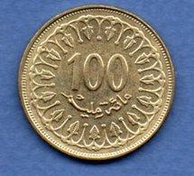 Tunisie  -  100 Millim 1997  -  Km # 309  - état  SUP - Tunisie