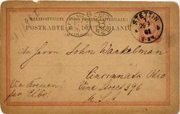 (Lo2609) Ganzs. DR St. Stettin N. Ohio USA - Allemagne
