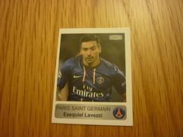 Ezequiel Lavezzi PSG French Football Europe's Champions 2013-2014 Greek Sticker - Adesivi