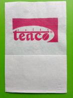 Servilleta,serviette .cafés Tenco,Portugal - Company Logo Napkins