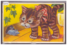 CHAT AVEC YEUX MOBILES - TB - Mechanical