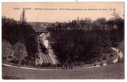 2716 - Paris ( XIXe ) - Buttes Chaumont - Vue Panoramique Du Chemin De Fer - C.M. - N°1264 - - Arrondissement: 19