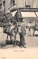Espagne   Andaloucia:   Granada  Aguadores  . Enfant Et Son âne  (voir Scan) - Granada