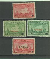 COSTA RICA - ISLA DEL COCO 5C GREEN X2 AND 10C RED X 2 WATERLOO SPECIMENS MINT NEVER HINGED - Costa Rica