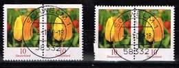 Bund 2007, Michel# Aus Kleinbogen O Blumen - [7] Federal Republic