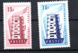 France / Série N 1076 à 1077 / NEUFS** - France
