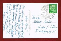 Bad Meinberg  Frauenleiden Reuma, Herz  Sauberer Rundstempel - Hydrotherapy