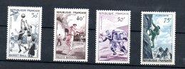 France / Série N 1072 à 1075 / NEUFS** - France