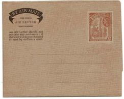 Guyana Aérogramme 12 Ctes Aerogram Air Letter Entier Entero Ganzsache Lettre Carta Belege Airmail Cover - British Guiana (...-1966)