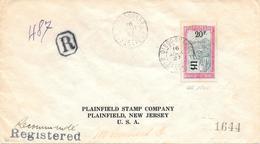 Lettre Madagascar Diego Suarez 1927 Pour Les états Unis - Madagascar (1889-1960)