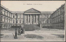 Palais De Justice, Amiens, Somme, C.1910s - Elie CPA - Amiens