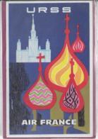 AIR FRANCE  URSS - Publicité