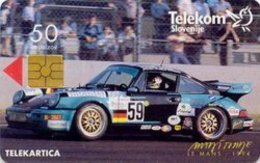 SLOVENIA SCHEDA TELEFONICA   Le Mans - 1994 / Kompas Holidays - Cars