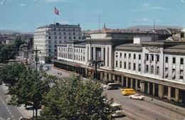 GENEVE LA GARE ET L'HOTEL CORNAVIN (dil414) - GE Geneva