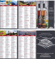 Italien Kalender 2018 Hasenspielhütte Sexten Essenz Der Berge - Calendriers