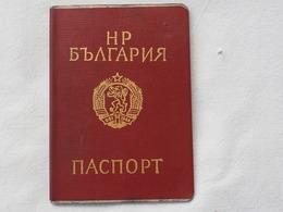 Passeport BULGARIE 1989 Visas Austria Canada   Reisepass Pasaporte Border Stamp A 181 - Historical Documents