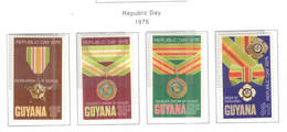 Guyana PO 1975 Rep.Day Scott.210/213+See Scan On Scott.Page - Guiana (1966-...)
