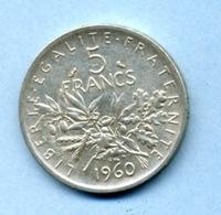 1960 5 FRANCS - France