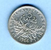 1964 5 FRANCS - J. 5 Franchi