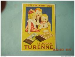 CLOUET  10746 CHOCOLAT DE TURENNE - Publicidad