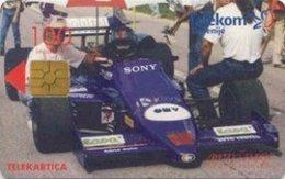 SLOVENIA SCHEDA TELEFONICA   Formula 3000 Lola / Omv Istrabenz - Cars